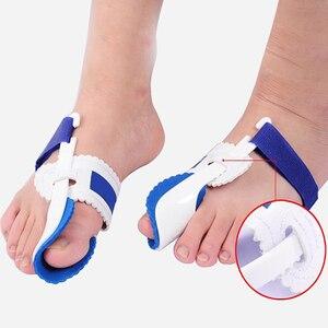 Image 3 - Palucha koślawego korektor ortopedyczny Bunion korektor na narzędzia do Pedicure silikonowe pielęgnacja stóp Toe korektor Protector Toe rozrzutnik