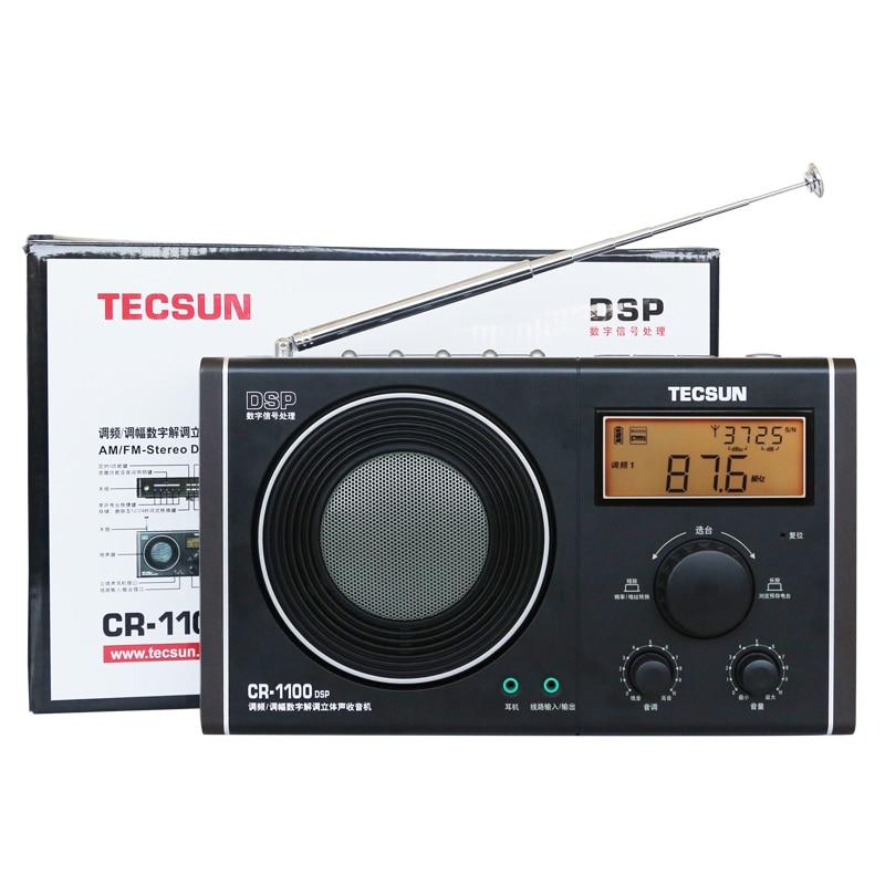 Radio Tecsun Cr-1100 Dsp Am/fm Stereo Radio Heller Glanz