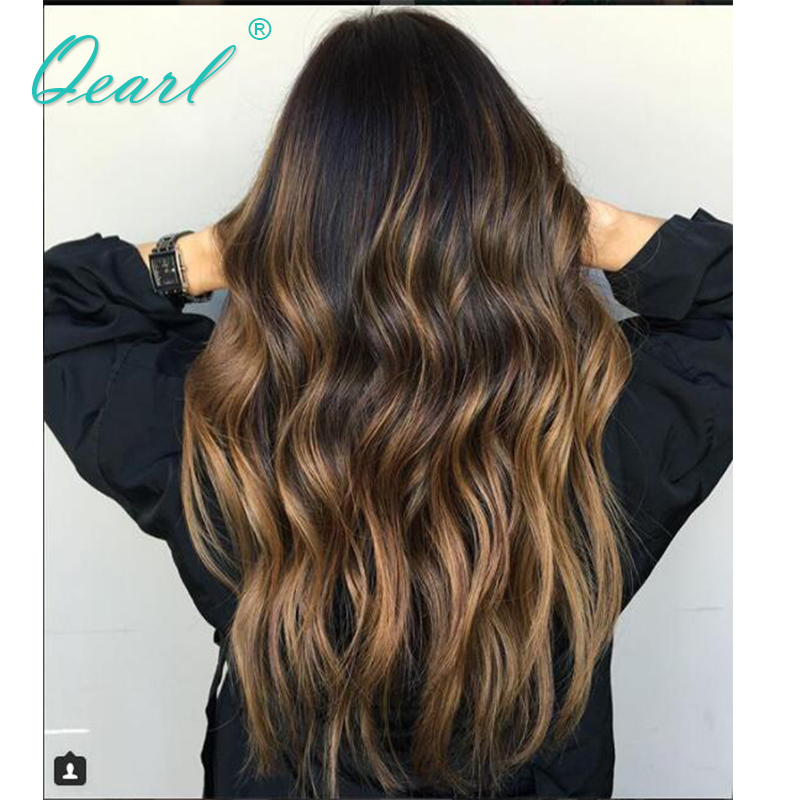 ombre blonde full lace wigs