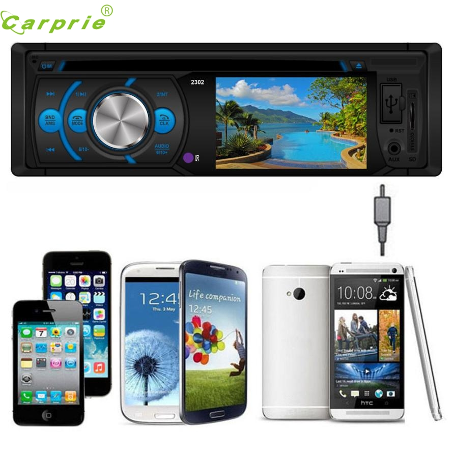 ФОТО New Arrival  Car Stereo In-Dash FM Aux Input DVD/CD USB MP3 Receiver Player 2302