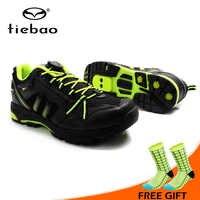 Tiebao 新デザインマウンテン自転車靴自己ロック靴メッシュ布通気性バイクシューズ Sapatos デ ciclismo