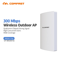 Comfast WA300V2 High Power Outdoor Wifi Repeater 300Mbps 2 4G Wireless Wifi Router 500mW Antennas 48