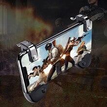 Jeebel Gatilho Botão de Fogo Objetivo Chave Telefone Gamepad Controlador de Jogos para Celular L1 R1 Atirador Aponte Chave Para TPS PUBG Móvel jogo FPS