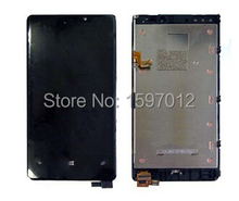 Écran lcd + tactile en verre + assemblée frame pour nokia lumia 920 pièces de rechange livraison gratuite
