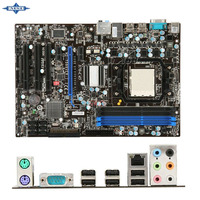 original Used Desktop motherboard For msi 870-C45 870 support Socket AM3 4*DDR3 support 18G 6*SATA2 USB2.0 ATX