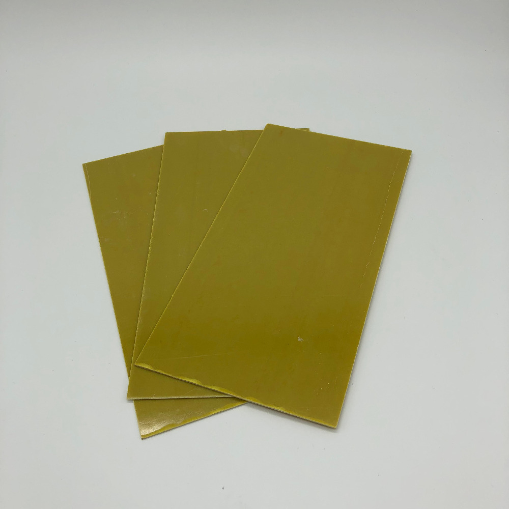 Yellow Glassfibre Template Board Sheet Epoxy Glass Fiber