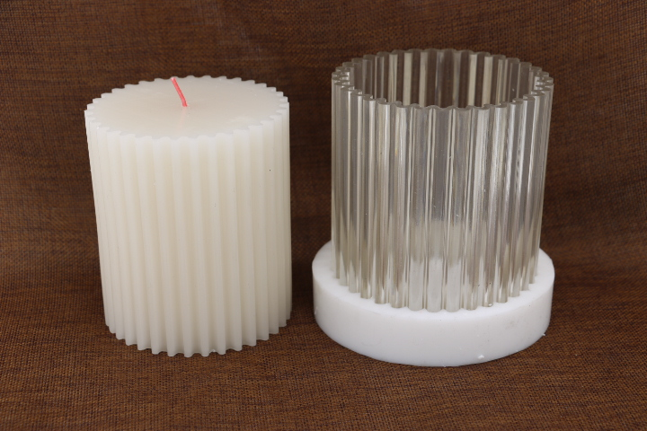 DIY Elliptical cylindrical gear design candle making candle model,High temperature resistant candle mould for diy