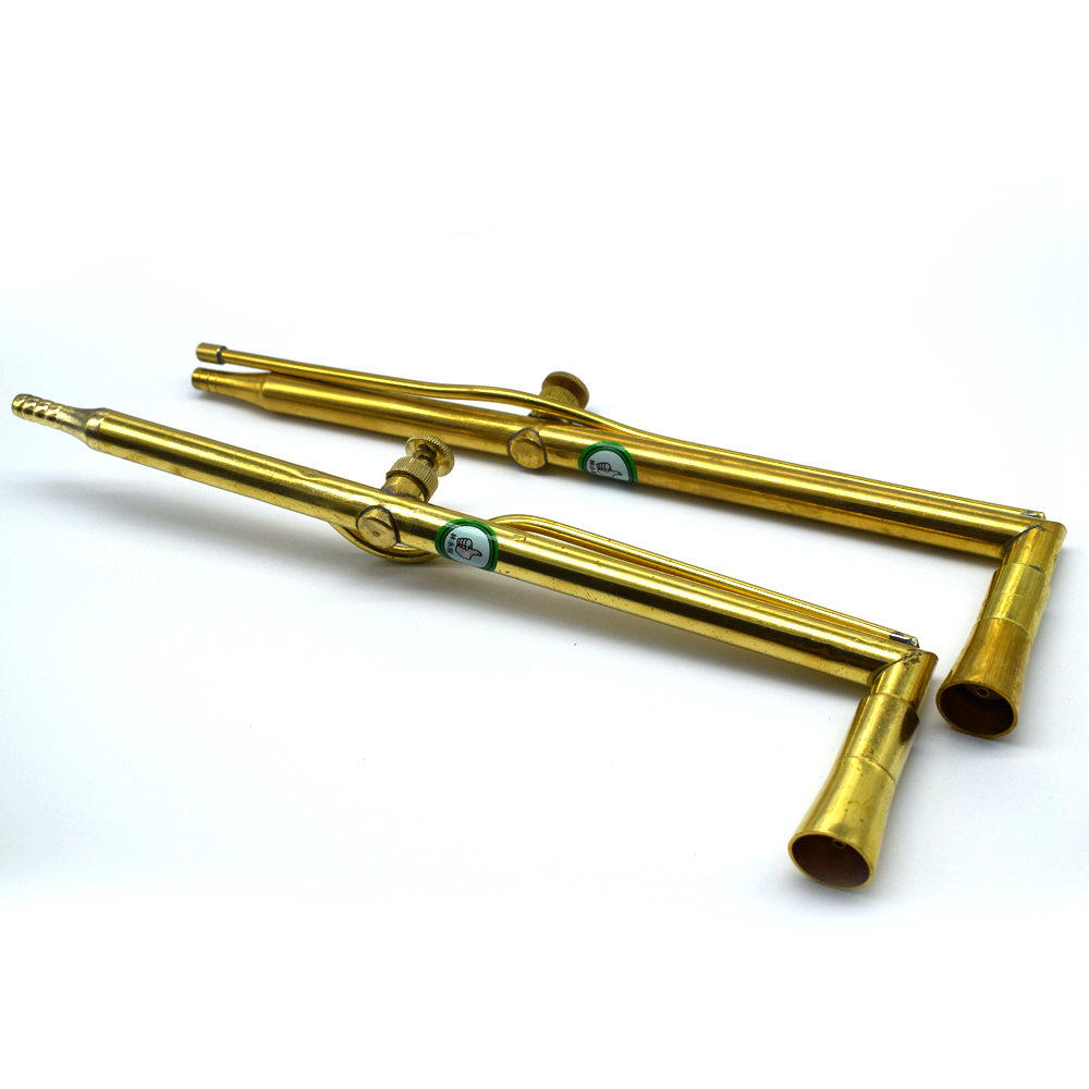 Brass Jewelry Welding Torch Double Orifices Jewelry Soldering Flame Gun Jewelry Tools Jewelry Tools & Equipments