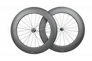 Image 4 - Roues tubulaires en carbone 700C à 250 degrés de bicyclette de route, 38mm 50mm 60mm 88mm, avec moyeu Novatec 291 482