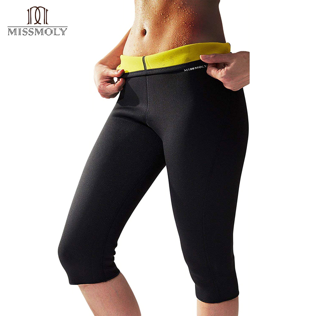 32a85a897239f Women Hot Thermo Body Shaper Neoprene Slimming Pants Thighs Fat Calorie  Burner Best Workout Sauna Suit High Waist Tummy Control