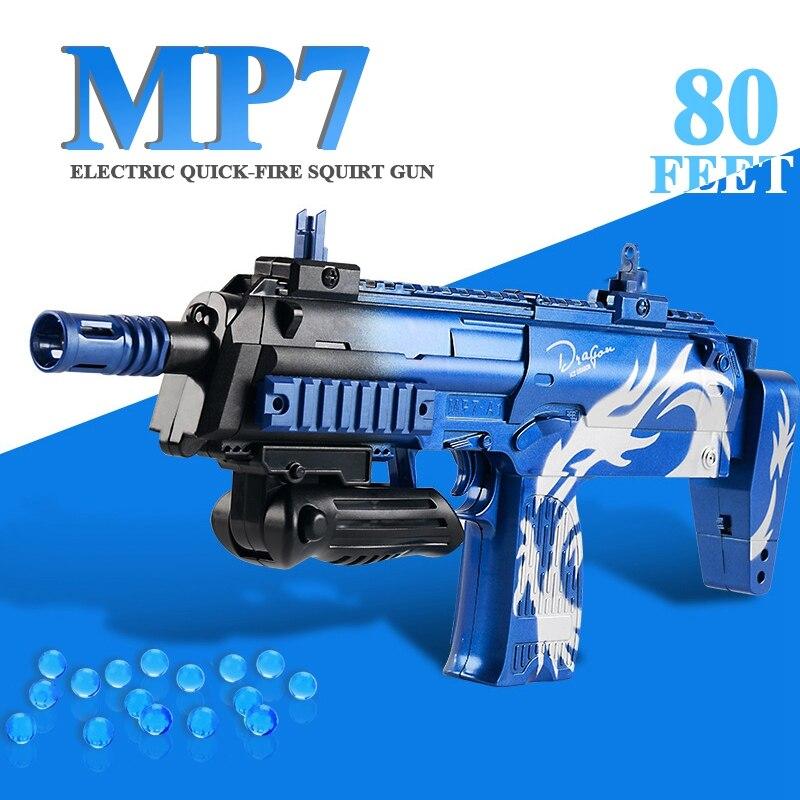 MP7 sports de plein air amusant pistolet à eau électrique pistolets jouets pour enfants garçon jouet pistolet machine CS bataille nerf arme