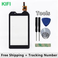 KIFI 100% QC PASS Touch Screen Digitizer Glass Panel For DEXP Ixion P4 P 4