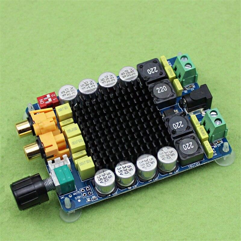 TDA7498 Class D 2X100W Dual Channel Audio Stereo Amplifier Board 80W + 80W Digital Amplifier Board Module interactive level 2 class audio cds аудиокурс на 3 cd