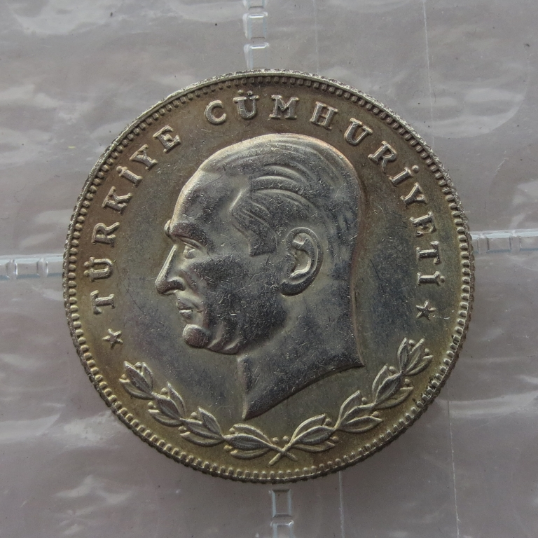 Turkey 100 Kurus 1934 Superb copy coin High Quality