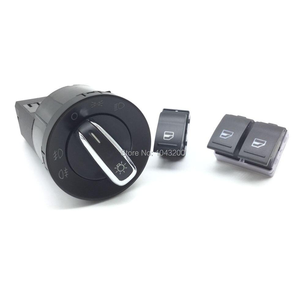 3bd941531 Новый Мощность Электрический фара окна Управление кнопка включения 7e0959855a 7e0959855 для 05-14 vw transporter Multivan T5 T6