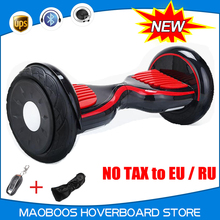 10 inch self balance Hoverboard gyro scooter giroskuter steering wheel skateboard speedway skywalker stand up Hover board