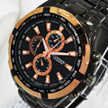 2016 Homens Top Marca De Luxo Militar Relógios de Pulso CURREN 8023 homens Relógios Homens de Aço Completo Relógio Do Esporte À Prova D' Água Relogio masculino