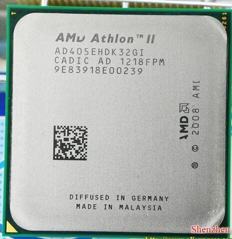 Kostenloser Versand AMD Athlon II X3 405e Desktop CPU 2,3 Ghz Sockel AM3 938 Desktop-cpu-prozessor scrattered stücke