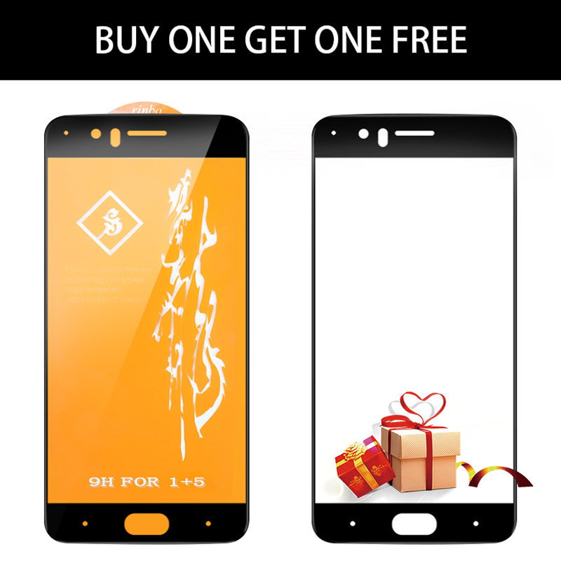Oneplus 5 Glass Tempered Oneplus 5 Screen Protector Oneplus5 A5000 Full Cover Black Protective Film MOFi 1 Plus One Plus 5 Glass