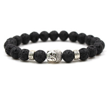 Fashion Charm New Natural Stone Beads Buddha Bracelets Men 2019 Silver Bracelet For Men Women Yoga Meditation Hand Men Jewelry термокружка 0 5 л rondell ultra infinity rds 923