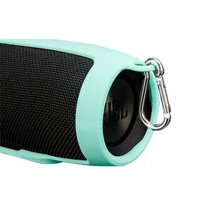 Image 5 - Nouveau housses pour de haut parleur en Silicone souple JBL Charge 3 haut parleur Bluetooth manchon de protection antichoc pour haut parleur JBL Charge3