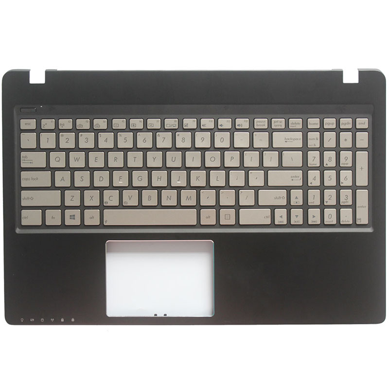 US NEW Laptop Keyboard For ASUS Q500 Q500A English Keyboard With Backlit Palmrest Upper Cover