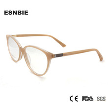 ESNBIE Acetate Fashion WomenS Cat Eye Glasses Frame Eyeglasses Vintage Myopia Women Ladies Eyewear Lunette De Vue Femme