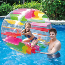 Newly Large Inflatable Land Wheel Jumbo Party Kids Indoor Outdoor Pool Playing BF88