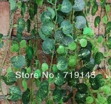 2.4cm Big leaf artificial Boston ivy leaves vine Virginia creeper green plants home garden supermarket decoration