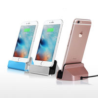 New USB Sync Data Desktop Charging Dock Stand Station Charger For IPhone 5 5S 6 6S