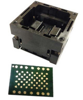 LGA60 socket_13X18mm read and test,long operating life,easy to operate,up to 25,000 times,nand flash test and read