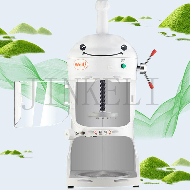 Free shipping bubble Tea Shop Sand Ice crusher crushed ice block maker Snowflake ice shaker fancy ice shaking machine sale hand driven ice crusher commercial and home use crushed ice machine zf