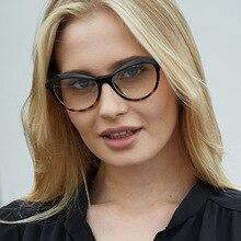 f5d190c26d5 Ladies Cat Eye Glasses Frames Women Trending Styles CCSPACE Brand Optical  EyeGlasses Anti-Blu-ray Eyewear Computer Glasses