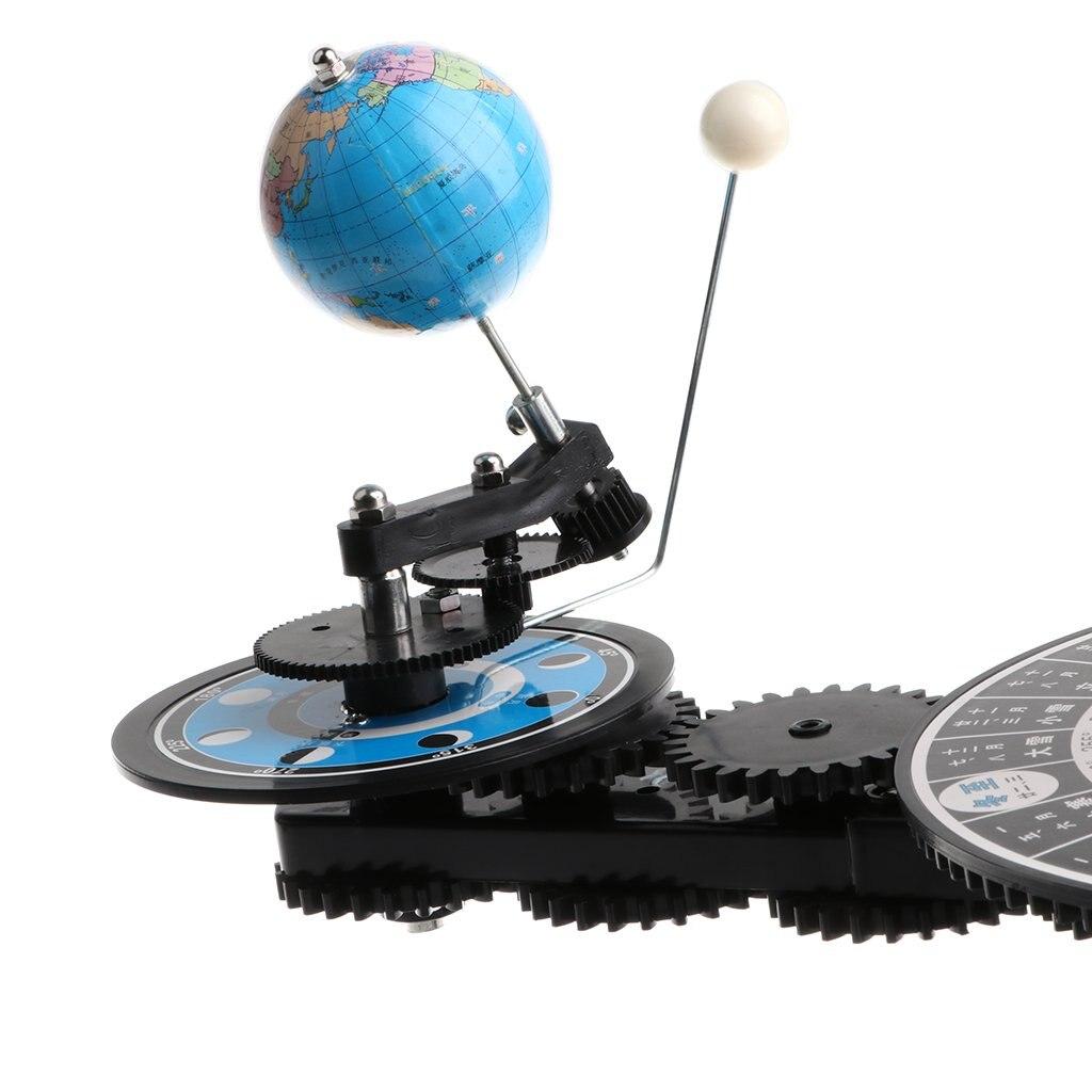 Modèle de système solaire bricolage assemblé Science apprentissage modèle de planétarium éducatif jouets cadeau d'anniversaire pour enfants enfants en bas âge - 2