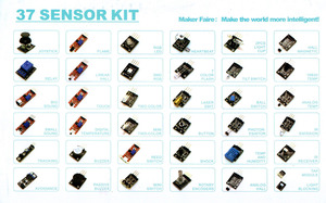 Image 2 - Suq 37 em 1 kit sensor de caixa para arduino starters marca em estoque boa qualidade baixo preço