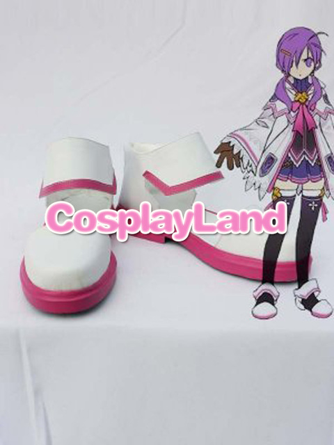 ELSWORD Elemental Master Aisha Cosplay Boots Shoes Anime Party Custom Made Women