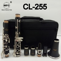 Brand New Music Fancier Club Matte ABS Resin Clarinet MFCCL 255 Bakelite Clarinets Student Bb Mouthpiece 4C Included Case