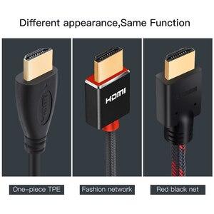 Image 2 - Groothandel 100 Stks/partij Hdmi Kabel High Speed Video Kabels Vergulde Kabel 0.3M 1M 1.5M 2M 3M 5M 7.5M 10M 15M Voor Hd Tv Xbox PS3