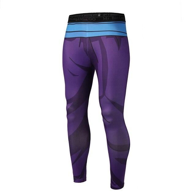 Brand Clothing 2017 New Arrive Mens Pants 3D Print Dragon Ball Z Naruto Skinny Leggings Trousers Fashion Tights Sweatpants M-3XL 4