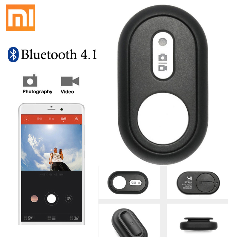 10M Bluetooth 4.1 Digital Camera self-timer rods Remote Shutter Controller for xiaomi yi Gopro Hero Action camera Smart phones