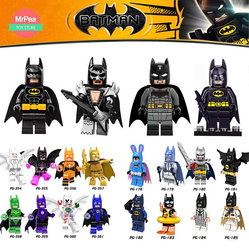 Singelförsäljning DC Super Heroes Batman Batgirl Bathrope Marve - Byggklossar och byggleksaker