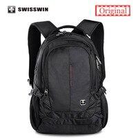 Swisswin Brand Classic Backpack For Women And Men Waterproof 15 Laptop Backpack A4 Bookbag Backpack Sac