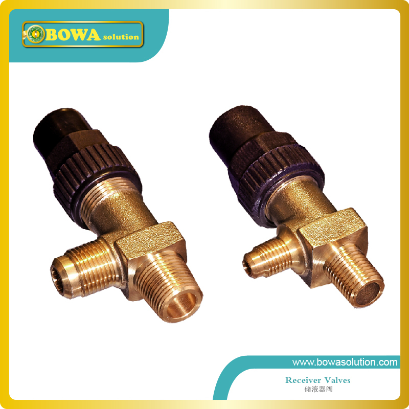 Angle shutoff valve with 1/4NPT to 1/4SAE Flare connection is used in liquid refrigerant receiver, condenser or evaporators ro fittings eblow 3 8 npt x 1 4 push in with clamp