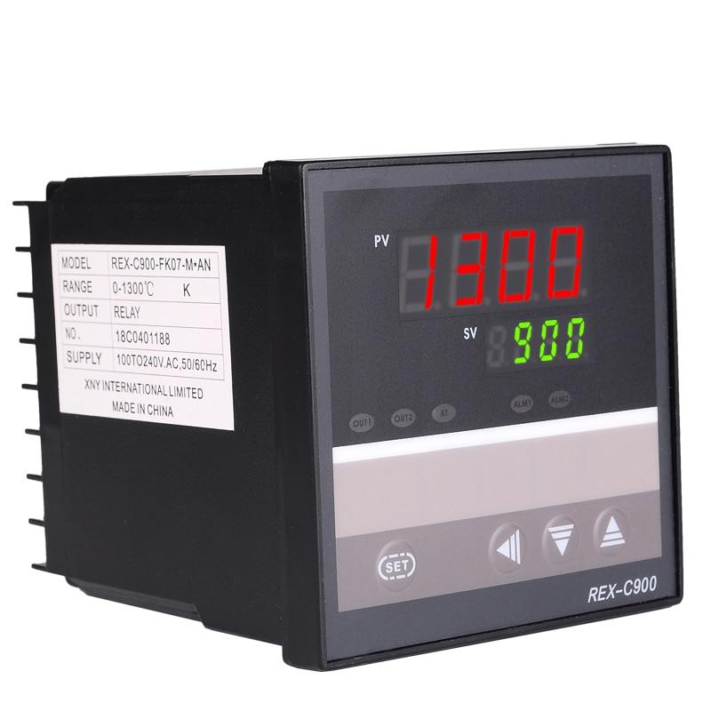 Nemokamas pristatymas RKC PID temperatūros valdiklis REX-C900 - Matavimo prietaisai - Nuotrauka 3