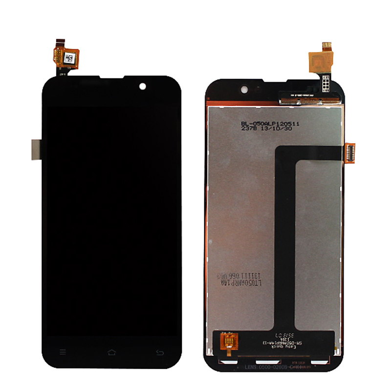 A+++ Display LCD For ZOPO C2 C3 ZP980 ZP980+ LCD Display + Touch Screen Digitizer Assembly Replacement Black/white