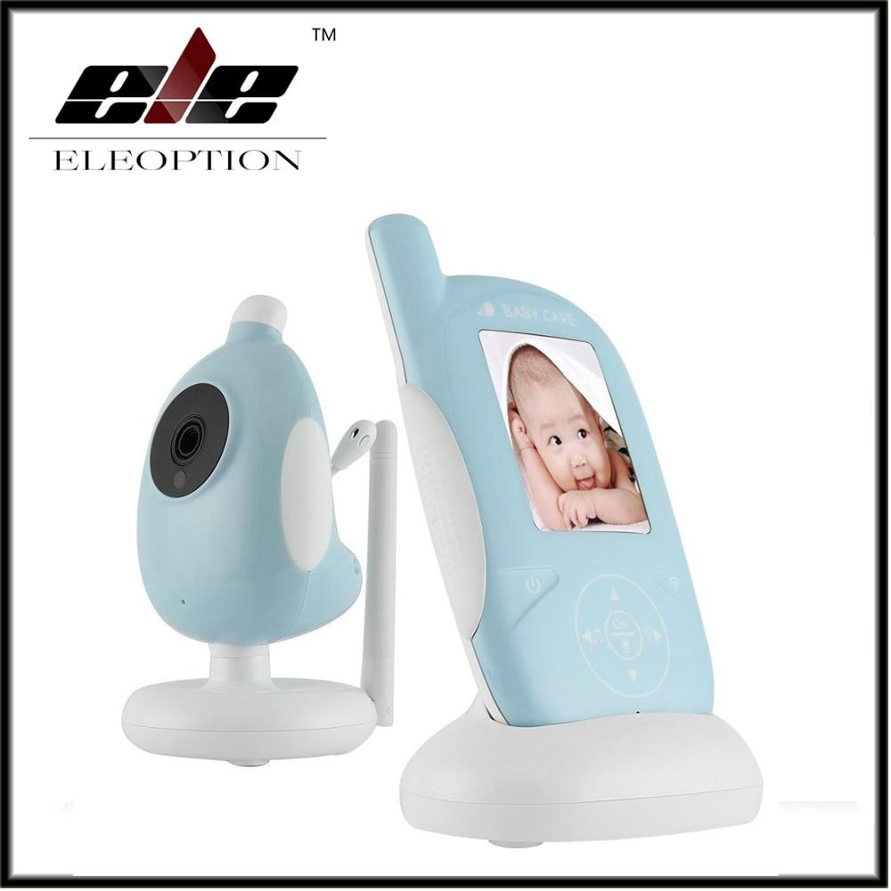 2.4 Inch LCD Wireless Video Babymonitor Night Vision Nanny Security Camera Temperature Monitoring Babysister With Nightlight детский монитор dad wifi babymonitor
