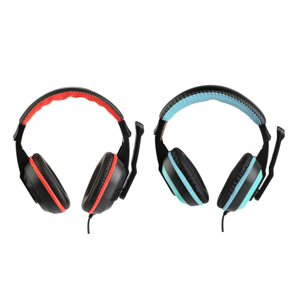 3.5mm Vedio Gaming Stereo Headset Wired Earphone Headphones with MIC for Xiaomi MP3 MP4 PC Computer Laptop Headset NEW usb earphone headphones with mic call center computer usb headset customer service headset for pc laptop skype chat gaming