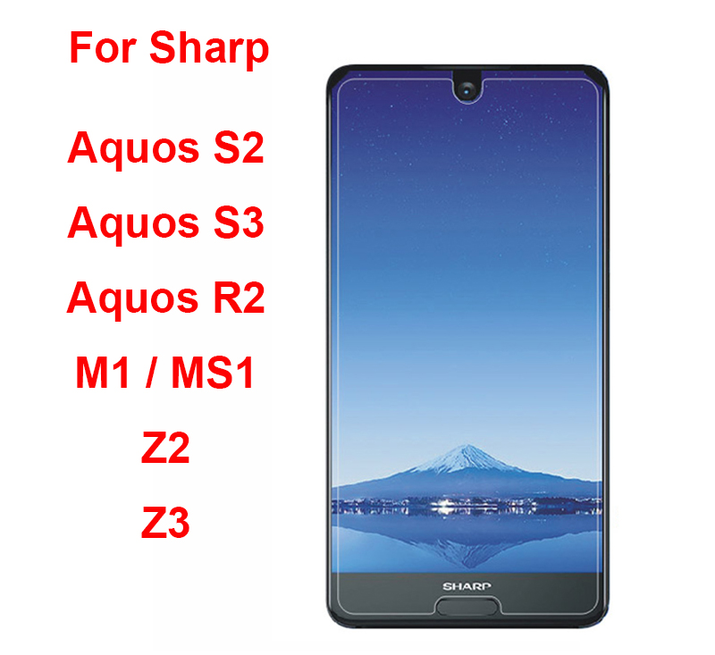 Sharp Aquos S2 S3 R3 Tempered Glass Phone Film For Sharp Z2 Z3 Sense 2 Screen Protector Protective Guard Glass For Sharp Z2 Film