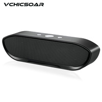 Vchicsoar GT Bluetooth Speaker Portable Wireless Subwoofer Stereo Music Surround Support Bluetooth Handsfree Speaker TF AUX USB