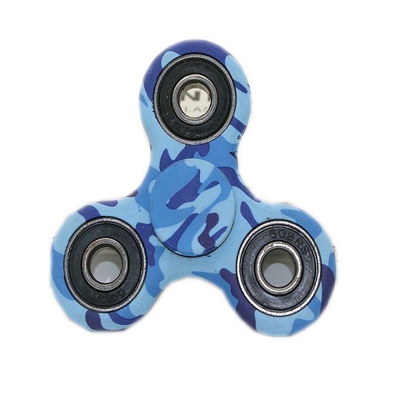 Adult Children Toy EDC Round Three Corner Camouflage Hand Spinner For Autism and ADHD Anxiety Stress Relief Focus Toys new arrived abs three corner children toy edc hand spinner for autism and adhd anxiety stress relief child adult gift